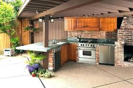 simple outdoor kitchen backyard designs lovable outside ideas inexpensive ki outdoor kitchen designs