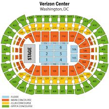 Caps Arena Seating Chart Washington Capitals Virtual Venue Described Capital One