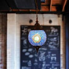 Turkish style lighting Wall Sconce Pinterest Turkish Style Decorative Blue Glass Ball Shape Mini Pendant Lighting