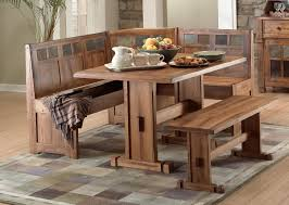 Kitchen Table With Corner Bench Seating Home Design Ideas Simple