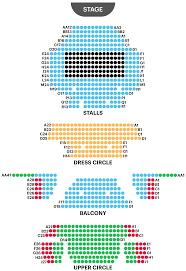 Academy Of Music Seating Chart Balcony Lyric Theatre Seating Plan Watch Thriller Live