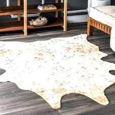 contemporary animal prints cowhide rug faux cow sheepskin rugs silver grey stone target metallic cowhide rug