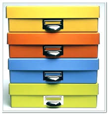 Decorative Document Storage Boxes File Storage Boxes Decorative Decorative Desk Organizer Office 1