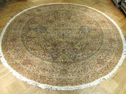 area rug foot round rugs contemporary handmade 3 ft 7x7 wool