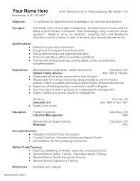 Manager Resume Objective Inspiration Warehouse Manager Resume Objective Resumes Image Gallery