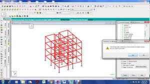 Design Of G 3 Rcc Building 3 Storied Rcc Building Frame Modeling Analysis And Design In Staad Pro