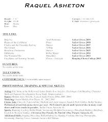 how to build an acting resumes how to format an acting resume actors resume format theatrical