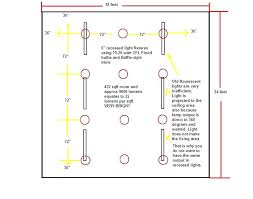 kitchen recessed lighting spacing layout for layouts designs 49