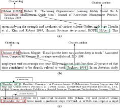 Cad An Algorithm For Citation Anchors Detection In Research Papers