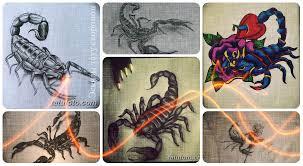 эскизы тату скорпион коллекция рисунков для тату фото значение