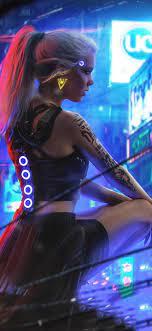 Girl Neon Wallpapers on WallpaperDog