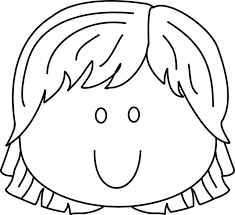 Small Picture woman empty face coloring page sun 43558 600758 color Girl
