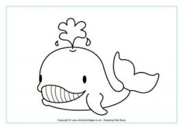 Small Picture Whales Colouring and Printables for Kids