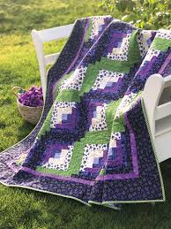 Lap Quilt Patterns Inspiration Quick Easy Lap Quilt Patterns Curvy Log Cabin Quilt Pattern