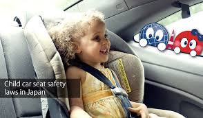 child car seat usage law in japan