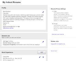 Indeed Job Resume Indeed Com