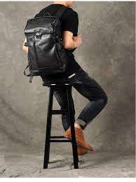 mens leather backpack leather rucksack travel backpack laptop backpack womens backpack gz035
