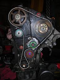 car won t start troubleshooting tdiclub forums and here is a picture of the entire timing belt system the pump hole circled in yellow