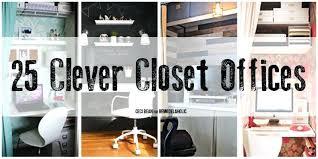 closet office space. Closet Desk Ideas Office Pictures . Ingenious Space