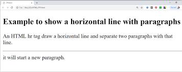 Html Paragraph Javatpoint