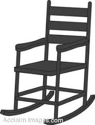 chairs clipart black and white. Contemporary Black Rocking Chair With Chairs Clipart Black And White