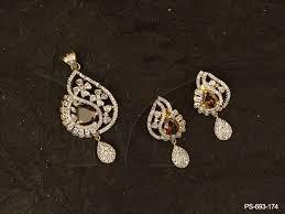 simple gold pendant set designs gemstone ad pendant sets