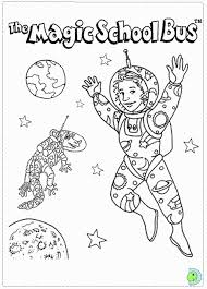 Small Picture Magic School Bus Coloring Pages Coloring Home