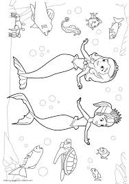 Small Picture Princess Sofia Mermaid Coloring Pages Coloring Pages
