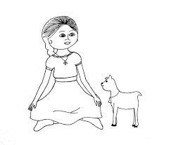 Coloring Pages Coloring Pages American Girl Doll Grace At