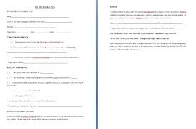 Donation Form Template Free Formats Excel Word For Nonp Vawebs