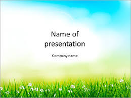 Spring Powerpoint Background Spring Background Powerpoint Template Infographics Slides