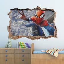 spider man 3d vinyl wall sticker 20
