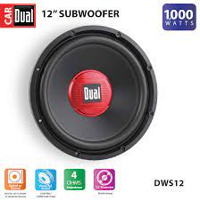Buy Dual Electronics DWS12 12-inch High Performance Subwoofer with a 2-inch  Single Voice Coil and 1,000 Watts of Peak Power Online in Indonesia.  135496328