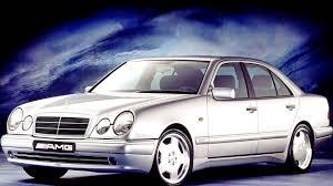 Mercedes Benz E 50 AMG Bm 210 072 '01 1996–08 1997 - YouTube