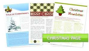 Holiday Templates For Word Free Christmas Letter Template Word Free Puebladigital Net