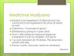 marijuana power point presentation dion 14 medicinal marijuana