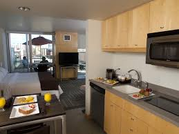 Slide5 Guest Room Kitchen At Our Iowa City Hotel