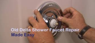 old delta shower faucet repair made easy