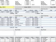 examples of personal budgets monthly personal budget template for excel robert mcquaig blog