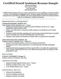 Dental Hygienist Resume Template Dental Assistant And Hygienist ...