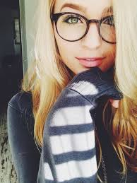 This girl Victoire Weasley wear a cool plastic glasses with a.