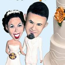 Custom Wedding Cake Toppers And Centerpieces Unique Personalized