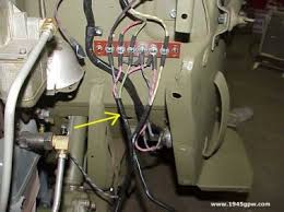 g503 wwii jeep body tub install body mounting to frame 11 install your main wire harness to your junction on the tub note earlier models you have a 2 junction block behind the air cleaner