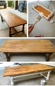 Decorating it more look good helps you create a fascinating impression with your guests. How To Whitewash Distress Furniture Diy Farmhouse Coffee Table Simply Taralynn Food Lifestyle Blog