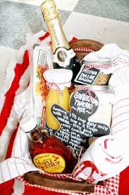 FUN Holiday Gingerbread pancakes and Mimosas DIY Breakfast Gift Basket Idea  via Curly Q Paper - Do it Yourself Gift Baskets Ideas for All Occasions ...