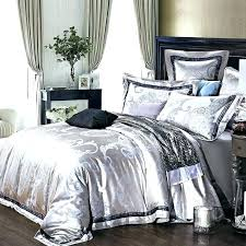 black and silver bedding sets silver bedding sets queen silver comforter sets king full size of