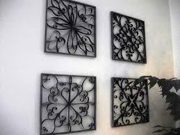 wrought iron wall art decor sik interiors