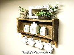 bathroom wall shelves wood shelf rustic storage wa