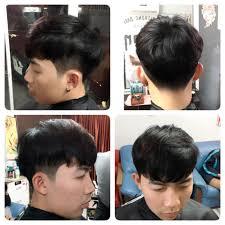 Two Block Haircut เกาหลๆจา กรรไกลทอง บารเบอร Facebook