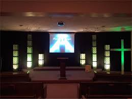 Small Stage Big Filters Church Stage Design Ideas